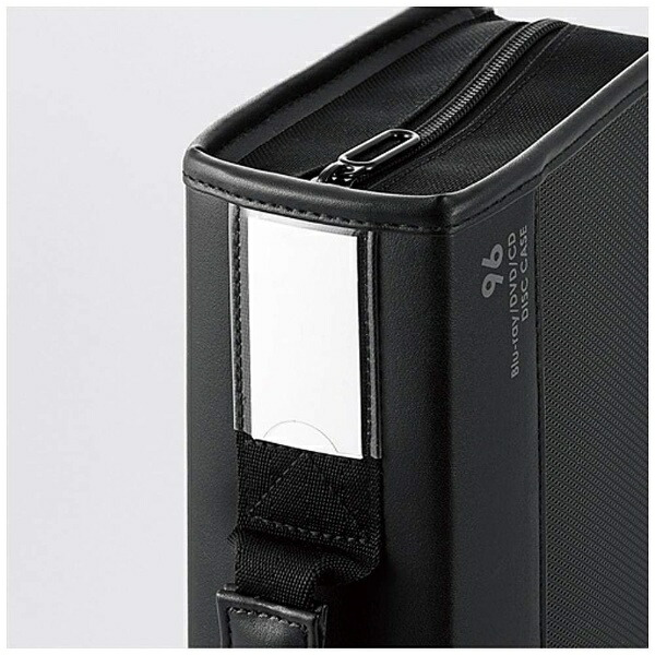 エレコムELECOMBlu-ray/DVD/CD対応ファスナーケース96枚収納ブラックCCD-SSB96BK[CCDSSB96BK]