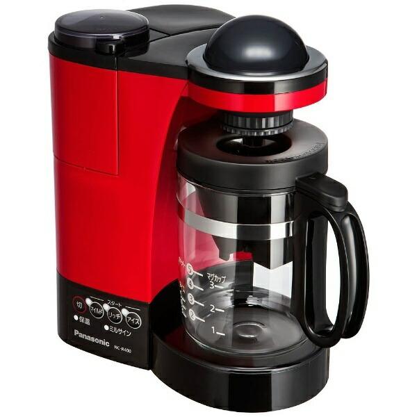 パナソニックPanasonicNC-R400コーヒーメーカーパナソニックレッド[ミル付き][NCR400]