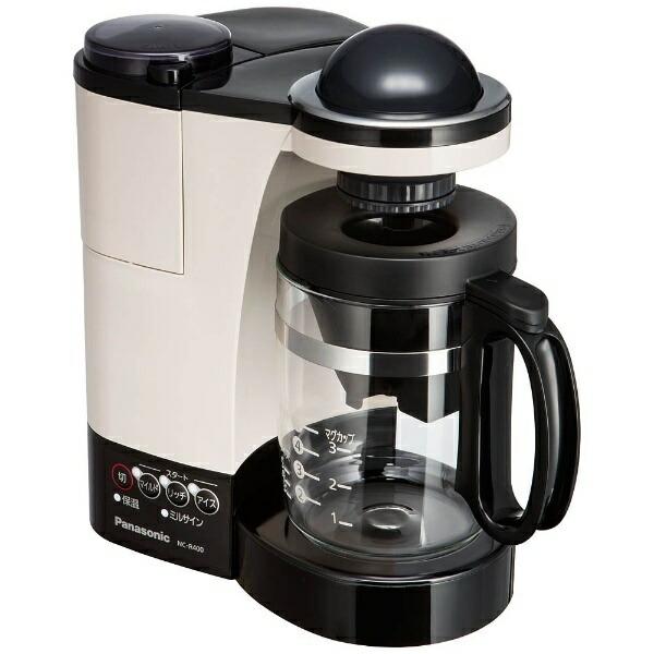 パナソニックPanasonicコーヒーメーカーカフェオレNC-R400-C[ミル付き][NCR400]
