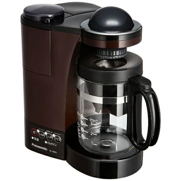 パナソニックPanasonicNC-R500コーヒーメーカーパナソニックブラウン[ミル付き][NCR500]