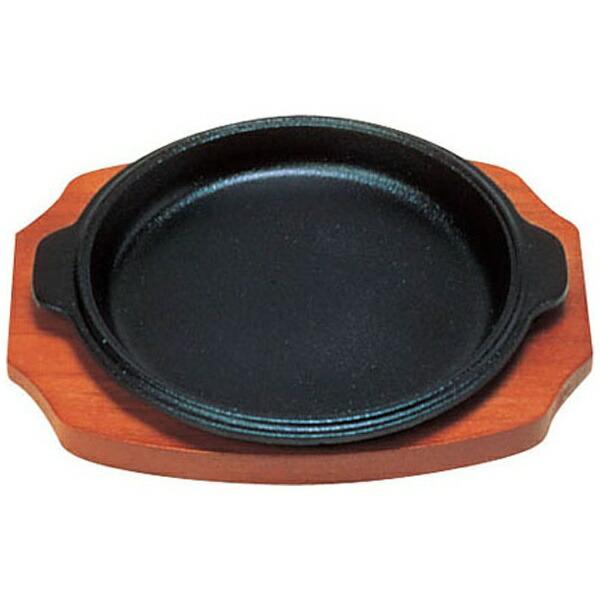 三和精機製作所《IH対応》ステーキ皿渕付丸型B17cm<PSV17017>[PSV17017]