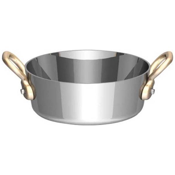 三宝産業SAMPOSANGYOUK18-8プチテーパーパン両手浅型鍋(蓋無)10cm<PPT8803>[PPT8803]