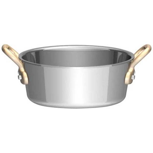 三宝産業SAMPOSANGYOUK18-8プチテーパーパン両手深型鍋(蓋無)8cm<PPT8701>[PPT8701]