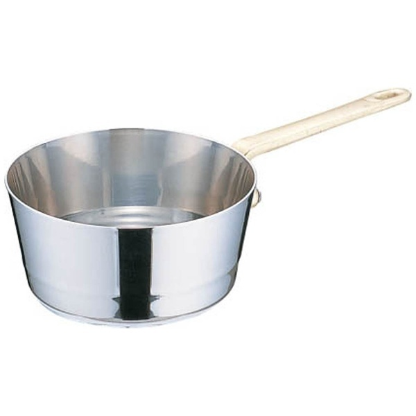 三宝産業SAMPOSANGYOUK18-8プチテーパー片手深型鍋(蓋無)9cm<PPTA002>[PPTA002]
