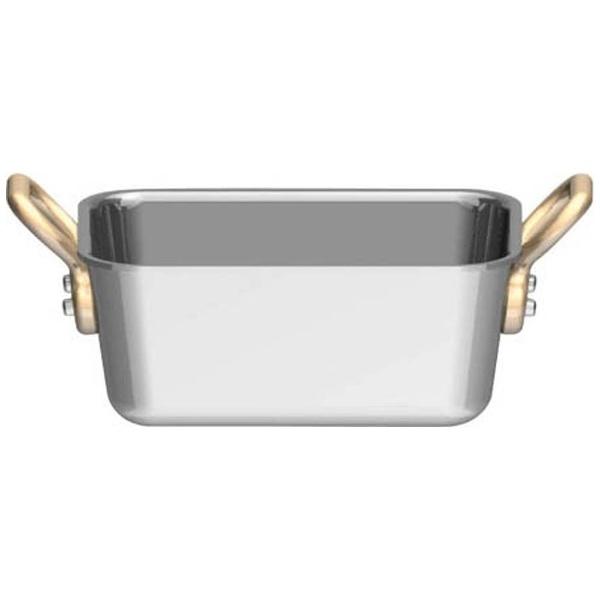 三宝産業SAMPOSANGYOUK18-8プチ角型鍋深型8cm<PPT9501>[PPT9501]