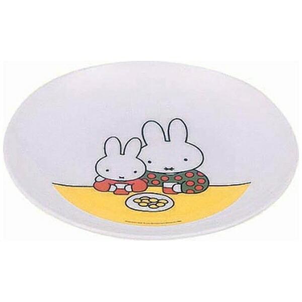 関東プラスチック工業KantohPlasticIndustryメラミンお子様食器「ミッフィー」CM-6C丸皿<RMLC701>[RMLC701]