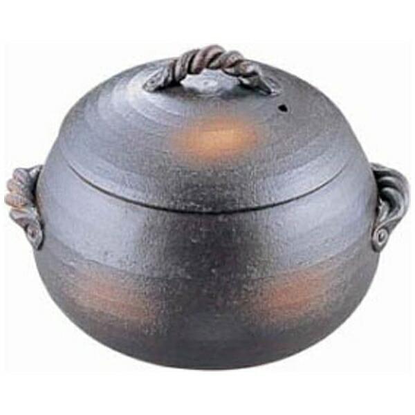 アサヒASAHI栗型ごはん炊き黒44-10-SL大(7合炊)<QGH0203>[QGH0203]