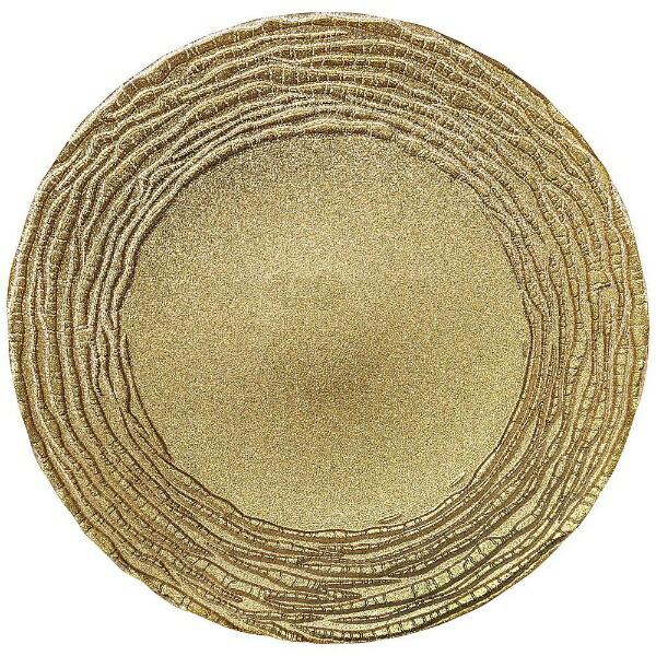 ミヤザキ食器MIYAZAKIマラケシュチャージャープレート32cmゴールド<RPLL302>[RPLL302]