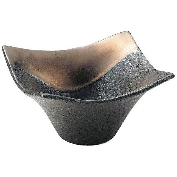 ミヤザキ食器MIYAZAKI奏角小鉢ゴールドブラック11cm<RSU0901>[RSU0901]