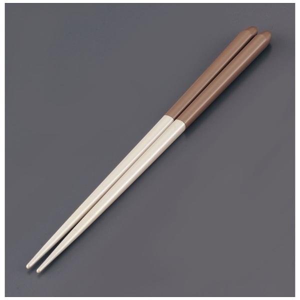 リック木製ブライダル箸(5膳入)パールホワイト/ベージュ<RHSR902>[RHSR902]