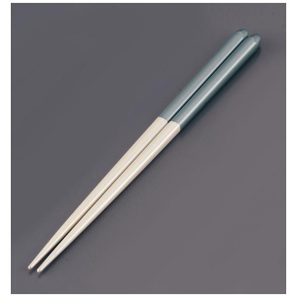リック木製ブライダル箸(5膳入)パールホワイト/ブルー<RHSR903>[RHSR903]
