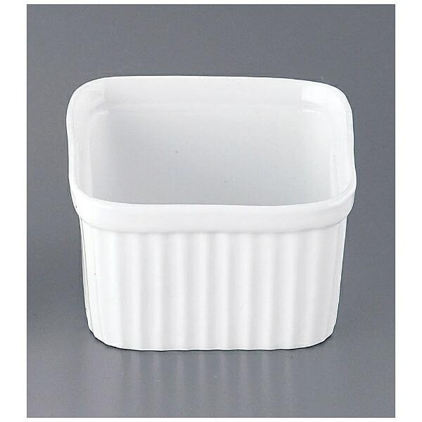 かんだKANDA耐熱性陶器四角スフレM(6個入)<RSH2802>[RSH2802]