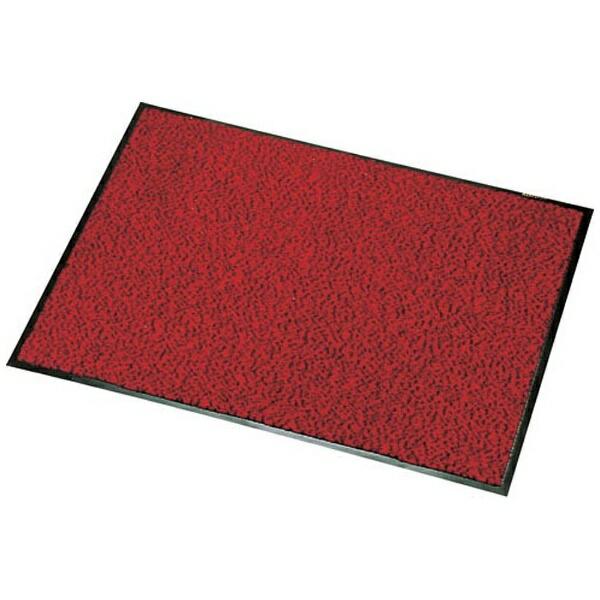 山崎産業ロンステップマット900×1800mm赤黒<KMT20183Z>[KMT20183Z]