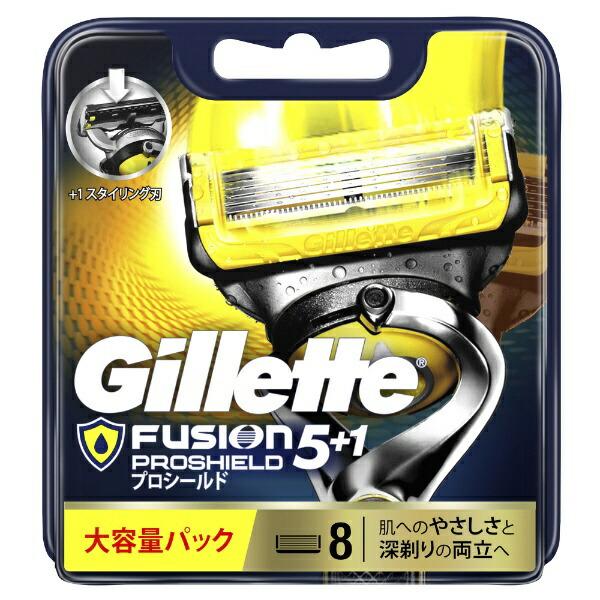 ジレットGilletteGillette(ジレット)フュージョン5+1プロシールド替刃8個入〔ひげそり〕