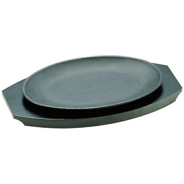 遠藤商事EndoShoji《IH非対応》SAアルミステーキ皿小判型<PSL03>[PSL03]