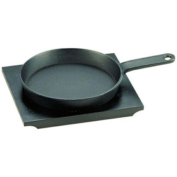 遠藤商事EndoShoji《IH非対応》SAアルミステーキ皿柄付<PSL06>[PSL06]