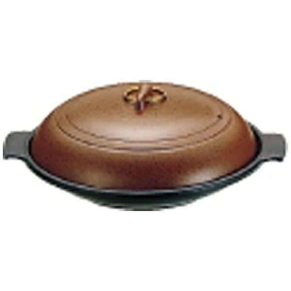 遠藤商事EndoShoji《IH非対応》SAやまと陶板鍋(アルミ製)18cm浅型<QTU07181>[QTU07181]