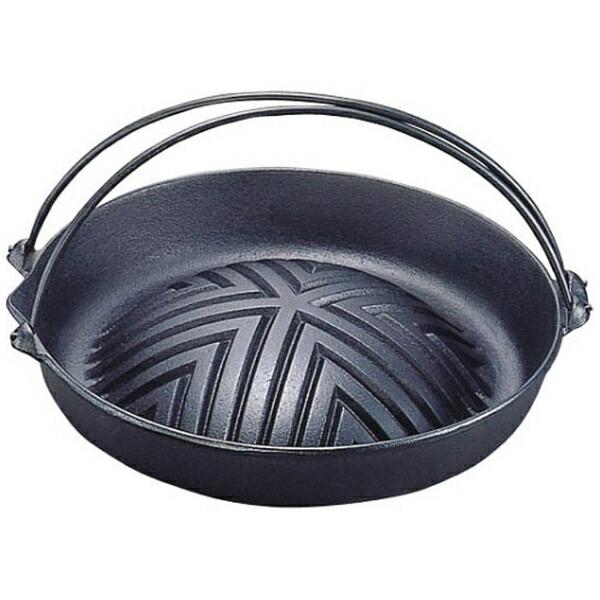 岩鋳IWACHU《IH非対応》岩鋳焼肉ジンギスカン鍋(ツル付)23-00629cm<QGV2301>[QGV2301]