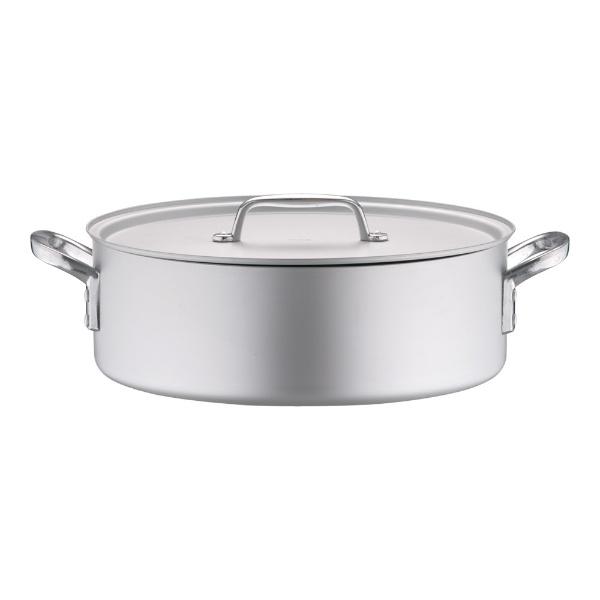 北陸アルミニウムHOKURIKUALUMINIUM《IH非対応》アルミプロセレクト外輪鍋(目盛付)39cm<ASTD539>[ASTD539]