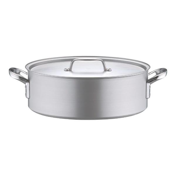 北陸アルミニウムHOKURIKUALUMINIUM《IH非対応》アルミプロセレクト外輪鍋(目盛付)42cm<ASTD542>[ASTD542]