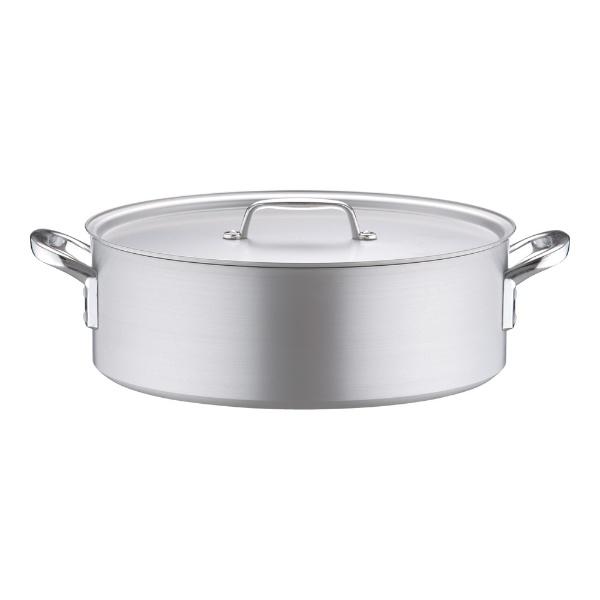北陸アルミニウムHOKURIKUALUMINIUM《IH非対応》アルミプロセレクト外輪鍋(目盛付)45cm<ASTD545>[ASTD545]
