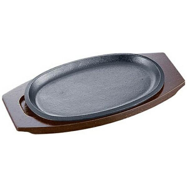 イシガキ産業ISHIGAKI《IH対応》イシガキ小判ステーキ皿浅型16-3030cm<PIS1502>[PIS1502]