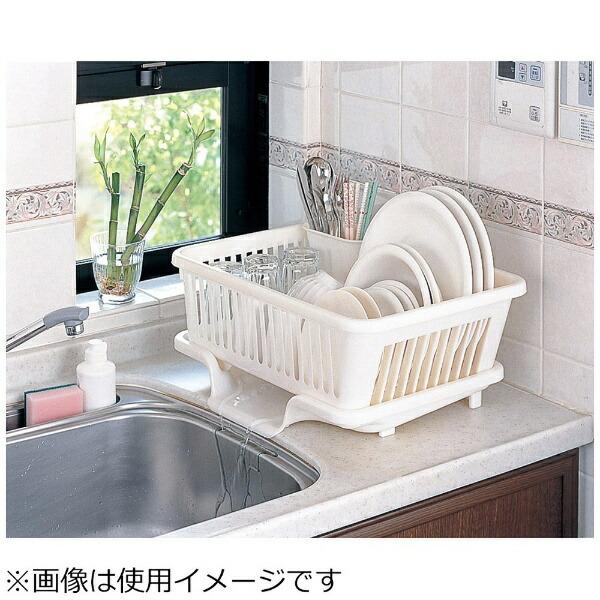 サンコー皿立て水切りかごタテ型No.1(箸立て付)<EMZ1401>[EMZ1401]