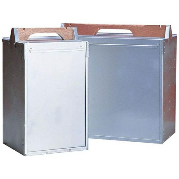 アカオアルミAKAOALUMINUMアルミ出前箱横4段<ADM0807>[ADM0807]