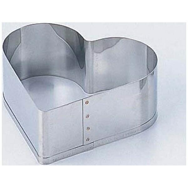 田中糧機製作所18-8刃付セルクルリングハート型12cm<WSL7101>[WSL7101]