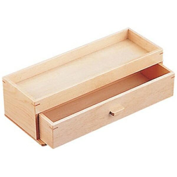 ヤマコーYAMACO木製カスター&箸箱ナチュラル<PHSA2>[PHSA2]