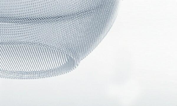 新越ワークスshinetsu-worksTSステンレス頑丈なざるプチリング付(16メッシュ)19cm<AZL5802>[AZL5802]