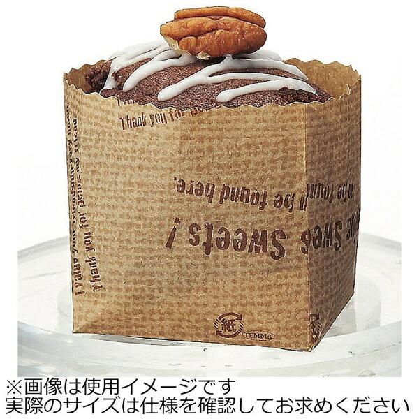 天満紙器TEMMASHIKIポットベリー麻袋ロゴ柄(50枚入)PY012<WPT6002>[WPT6002]