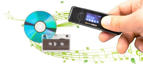 グリーンハウスGREENHOUSEデジタルオーディオプレーヤーKANADirectブラック[8GB][ラジオ録音機能付きGHKANADT8BK]