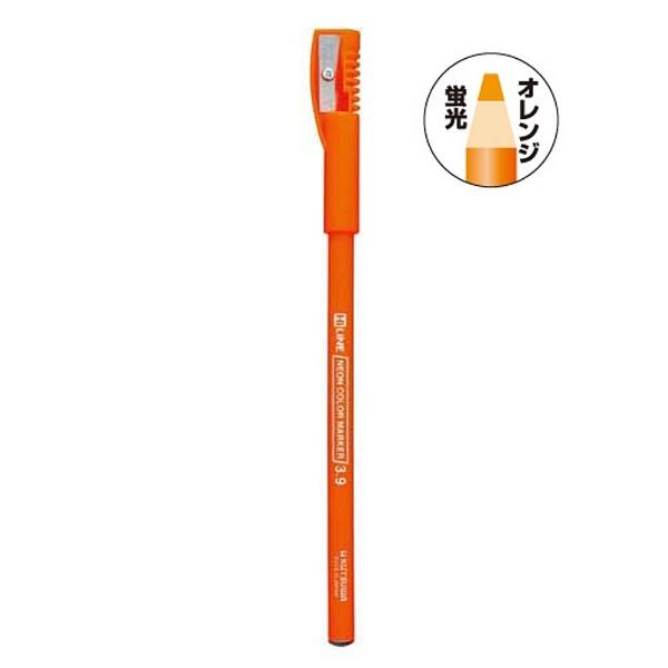 クツワKUTSUWA[色鉛筆]鉛筆の蛍光マーカーオレンジRF017OR