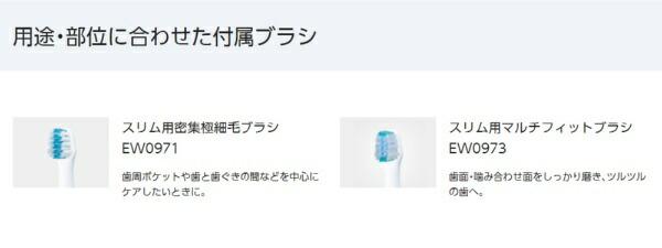 パナソニックPanasonicEW-DM61電動歯ブラシDoltz(ドルツ)白[振動(バス磨き)式][EWDM61W]