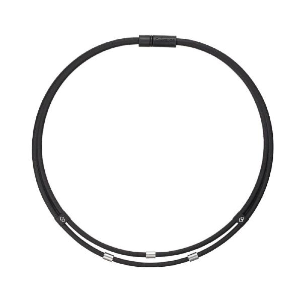コラントッテColantotteネックレスワックルネックTWIN(Lサイズ/ブラック)ABAAU01L