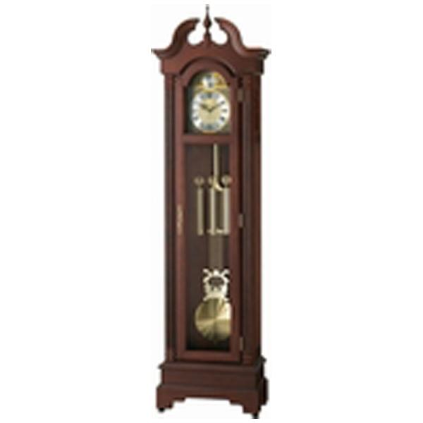 リズム時計RHYTHM置き時計【HiARM-417R】茶4RN417RH06[電波自動受信機能有]