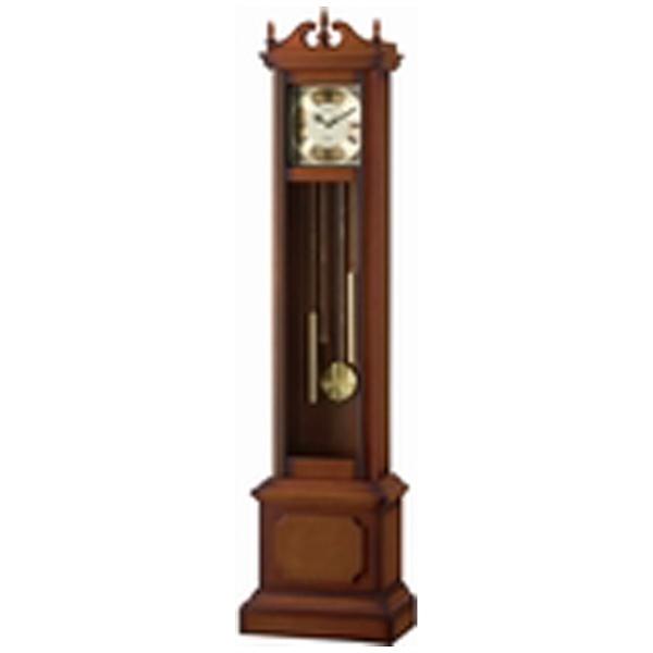 リズム時計RHYTHM置き時計【HIARM-419R】茶4RN419RH06[電波自動受信機能有]