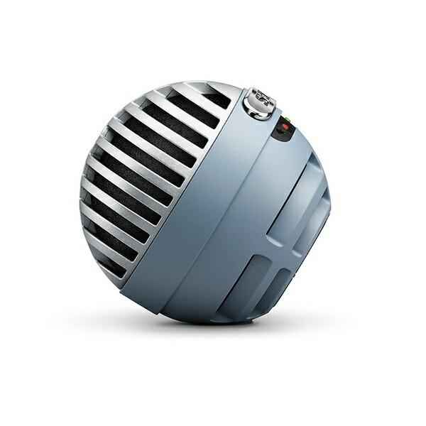 SHUREシュアーデジタル・コンデンサー・マイクロホンMV5ABLLTGAブルー