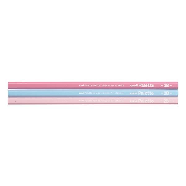 三菱鉛筆MITSUBISHIPENCIL[鉛筆]ユニパレットパステルピンク(硬度:2B)1ダースK55612B