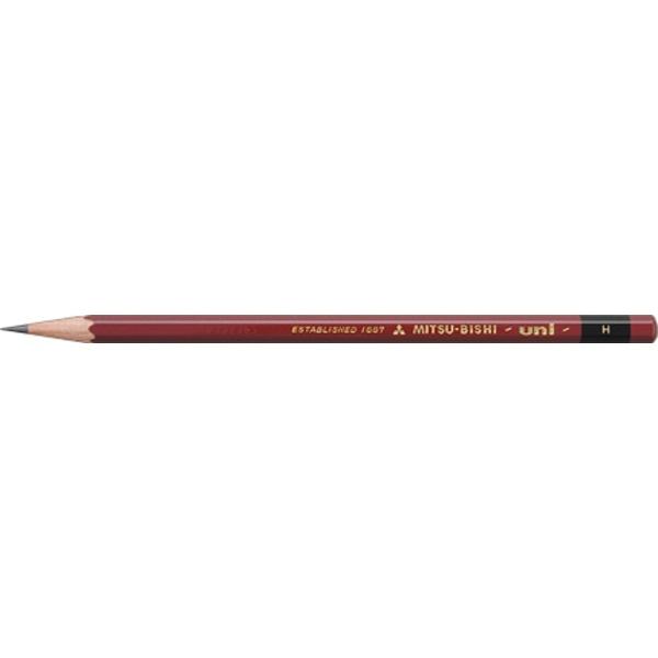 三菱鉛筆MITSUBISHIPENCIL[鉛筆]ユニ(硬度:H)1本U1PBH
