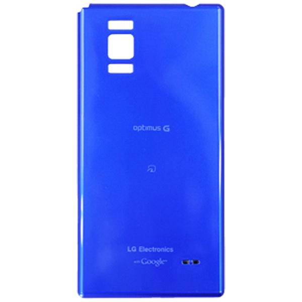 auエーユー【au純正】電池フタAstroBlueLGL21TLA[OptimusGLGL21対応]