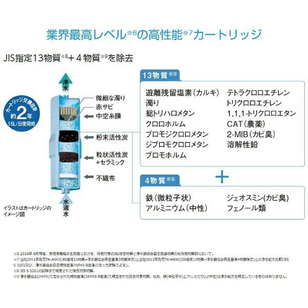 パナソニックPanasonicTK-HS70水素水生成器パールホワイト[水素水サーバーTKHS70W]