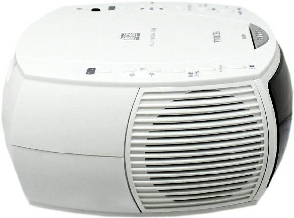 KOHKA廣華物産CDラジオCDC-220ホワイト[ワイドFM対応][CDC220]
