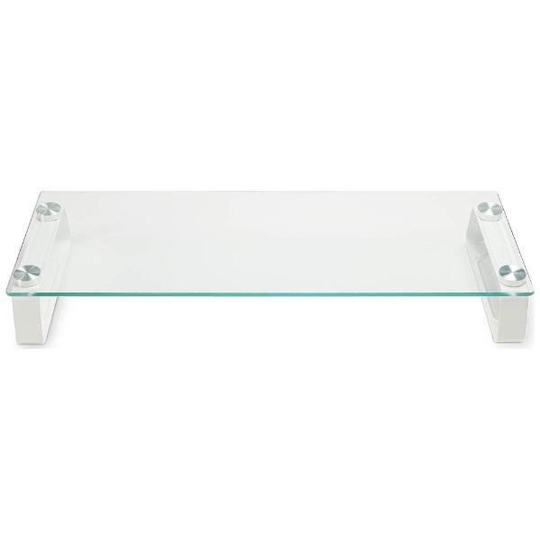 グリーンハウスGREENHOUSE強化ガラスディスプレイ台GH-DKBC-CL