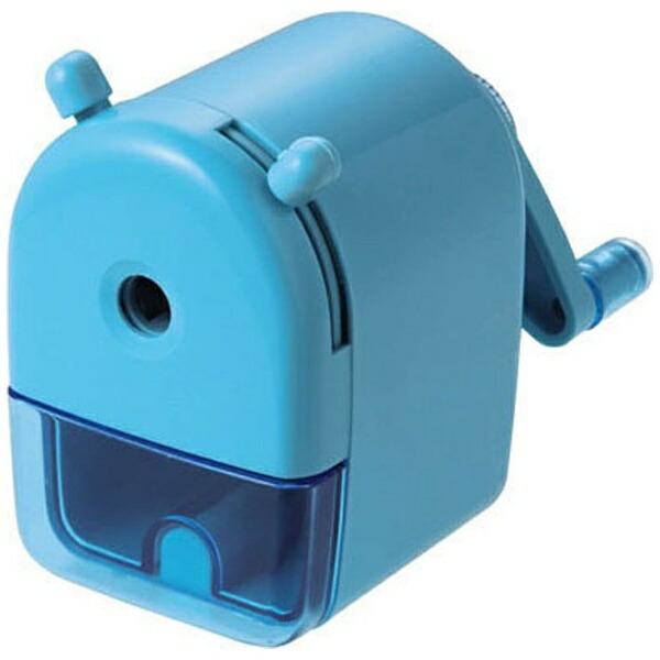 クツワKUTSUWA[鉛筆削り]ミニ卓上えんぴつけずりブルーRS026BL