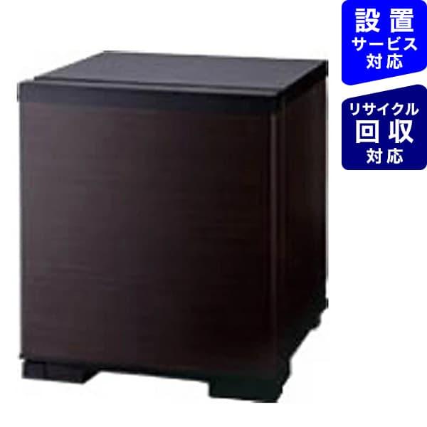 三菱MitsubishiElectric冷蔵庫ダークブラウンRK-201-K[1ドア/右開きタイプ/20L][冷蔵庫一人暮らし小型新生活RK201K_]