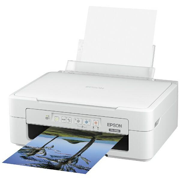 エプソンEPSONPX-049Aインクジェット複合機Colorio(カラリオ)[L判〜A4][PX049A]【プリンタ】