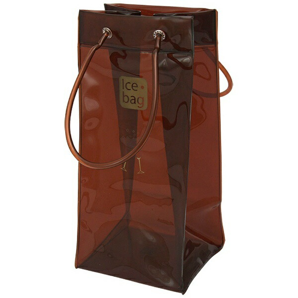 クリンプアイスバッグチョコレートブラウン[17410]
