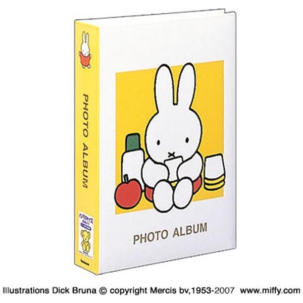 ナカバヤシNakabayashiディック・ブルーナ「ミッフィー」1PLポケットアルバム((Lサイズ3段300枚収納/イエロー)1PL-158-Y[1PL158Y]